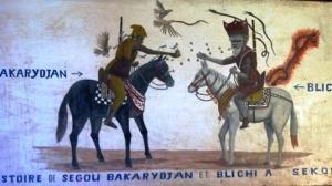 Le combat entre Bakarydjan et Bilissi de Ségou en image.
