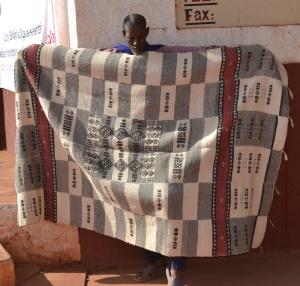 """Couverture faite en """"Kassa"""" au Mali"""
