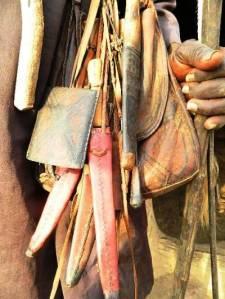 Le sac compagnon des vieux du village