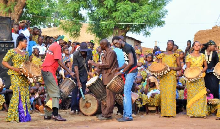 Cérémonie culturelle à Lassa